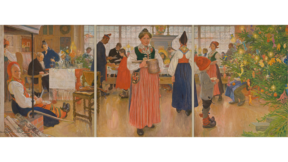 Adventsvernissage av Carl Larssons klassiska verk