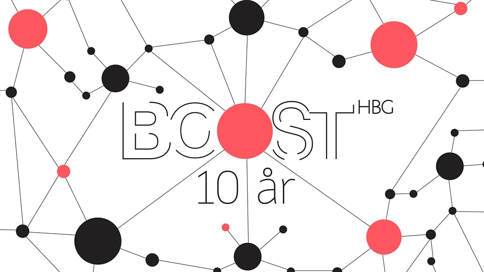 Utställningen Connecting the Dots summerar BOOSTHBG 10 år